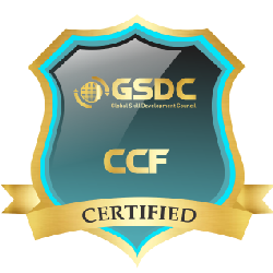 Certification badge for Cloud Computing Foundation