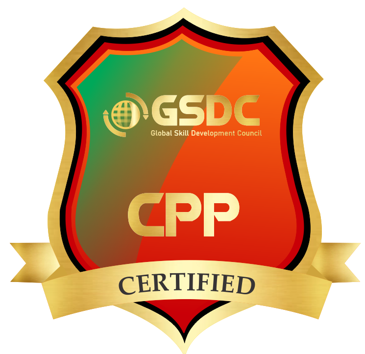 Certification badge for Certified Procurement Professional
