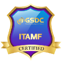 Certification badge for IT Asset Management