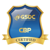 Certification badge for Blockchain expert