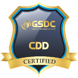 Certification badge for certified devOps developer