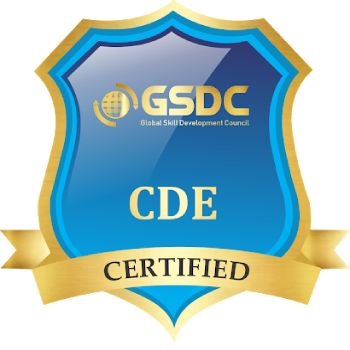 Certification badge for devOps engineer