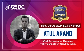 Welcoming our advisor Atul Anand