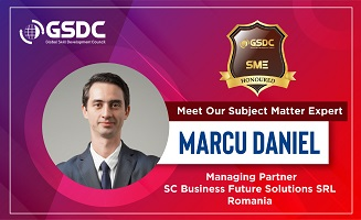 Welcome to our SME Daniel Marcu