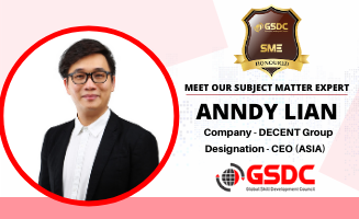 Welcome to our SME Anndy Lian